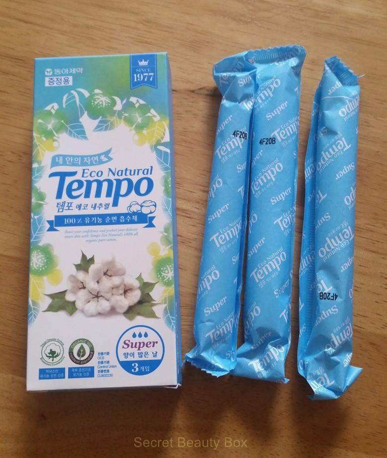 Donga Tempo Eco Natural Super, memebox